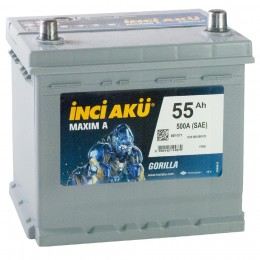 INCI AKU Maxim A 55R 500A 205x170x205